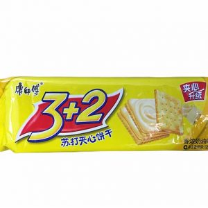 BISCUITI 3+2 UNT KSF 125G