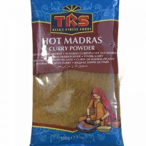 MADRAS HOT CURRY PUDRA TRS 100G