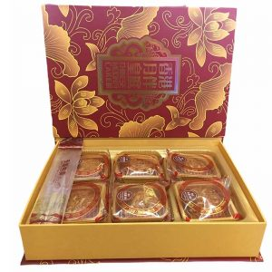 MOONCAKE 6 MIX YBHT 6X80G