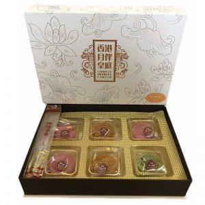 MOONCAKE LAVA MIX BOX A YBHT 6X80G