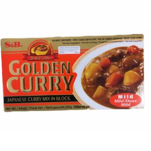 GOLDEN CURRY MILD SB 220G